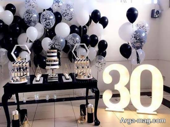 تزیین خاص تولد بزرگسال