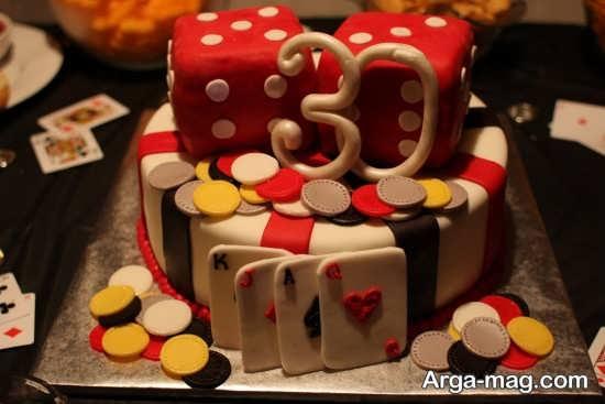 کیک تولد 30 سالگی