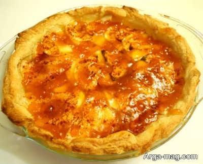 طرز تهیه تارت سیب