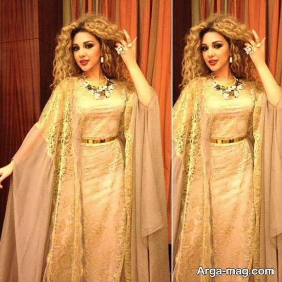 مدل لباس شب عربی زنانه