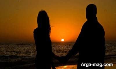 جملات عاشقانه در مورد دریا