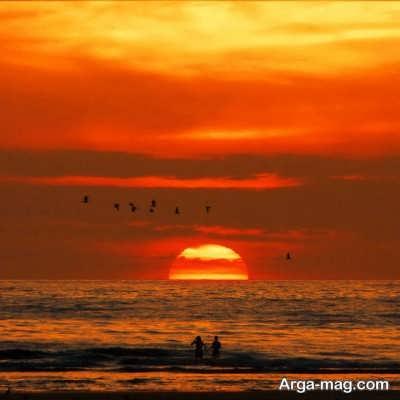 متن عاشقانه در مورد دریا