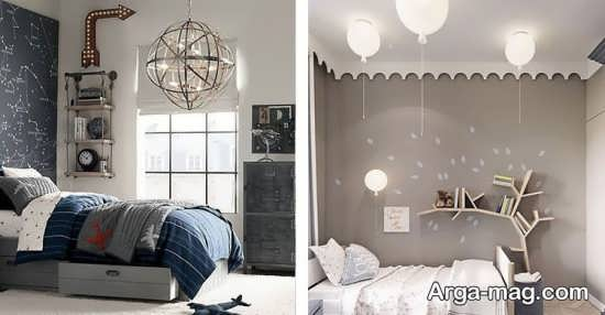 مدلی از لوستر اتاق خواب
