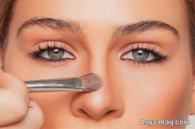 آرایش کردن بینی بزرگ