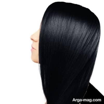 رنگ موی گیاهی مشکی
