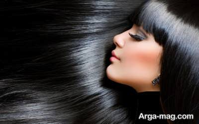 طرز تهیه رنگ موی گیاهی مشکی و روش استفاده از آن