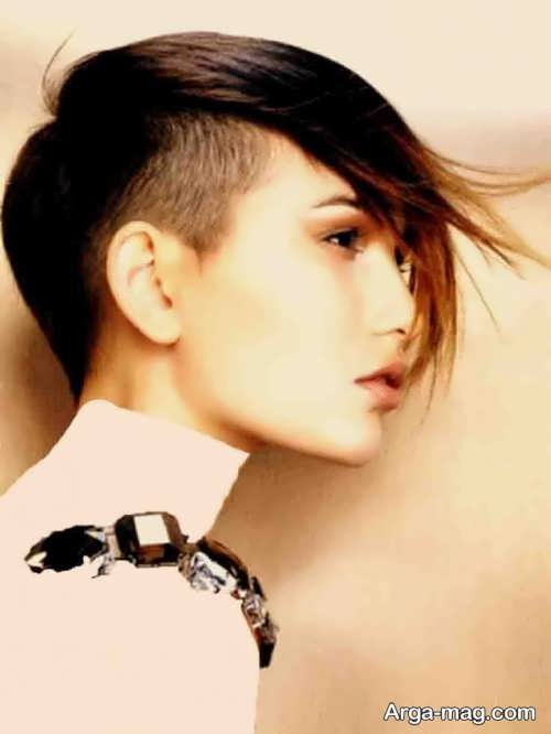 مدل مو پسرانه برای خانم ها