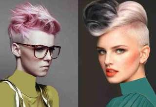 مدل موی پسرانه برای خانم ها و دختران جوان