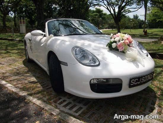 مدل ماشین عروس ساده 2018