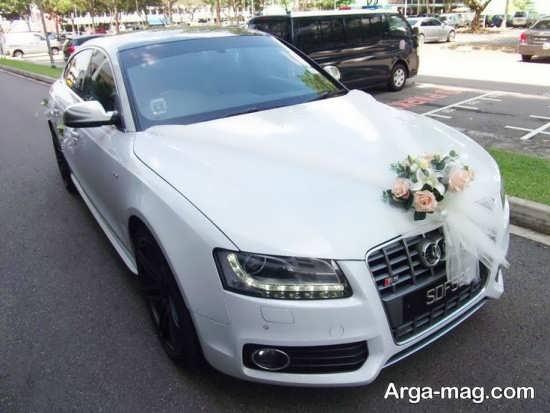 مدل ماشین عروس ساده و زیبا
