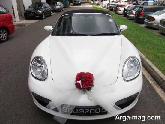 مدل ماشین عروس شیک و ساده
