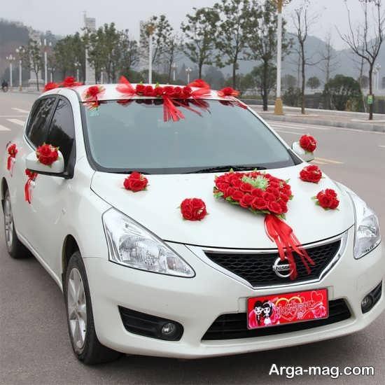 مدل ماشین عروس سفید و شیک