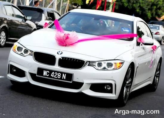 ماشین عروس شیک و خاص
