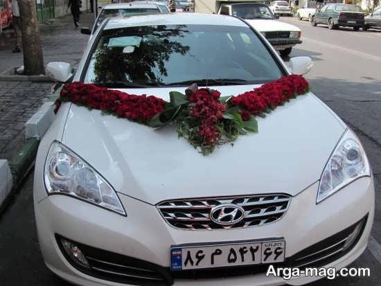 مدل ماشین عروس شیک و زیبا 2018