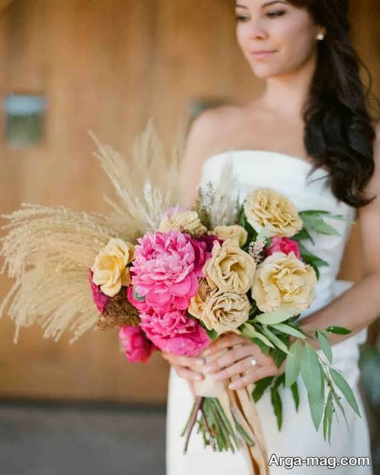 تزیین ایده آل دسته گل عروس