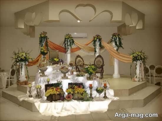 دکوراسیون اتاق عقد عروس