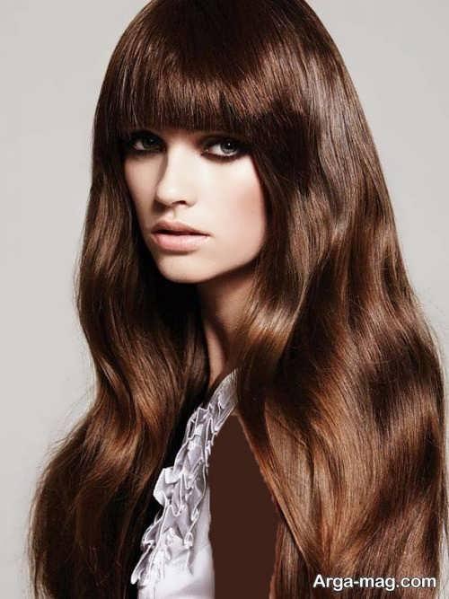 رنگ مو شکلاتی زنانه