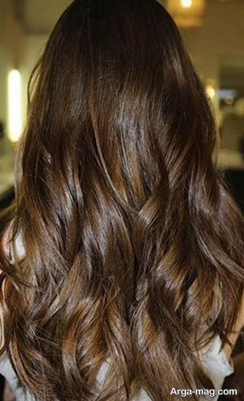رنگ موی روشن شکلاتی