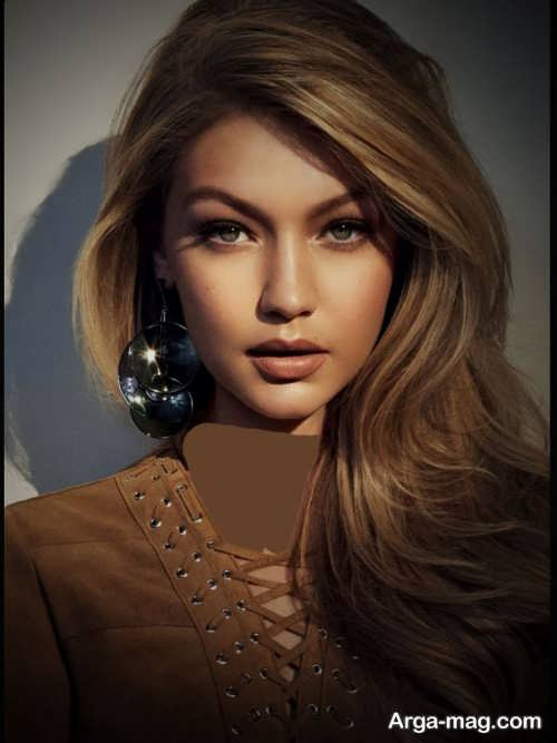 رنگ موی زنانه شکلاتی