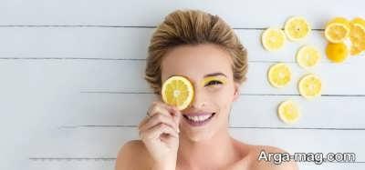 خواص لیمو برای روشن شدن پوست صورت