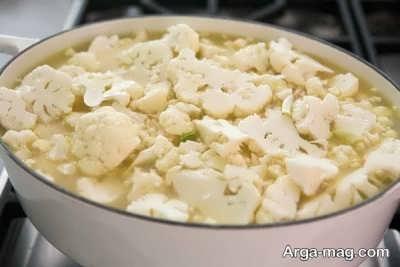 طرز تهیه کوکوی گل کلم خوشمزه و ایده آل
