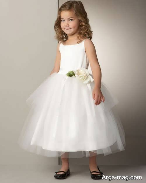 مدل لباس عروس بچه گانه زیبا و جذاب