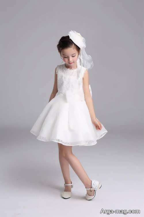 مدل لباس عروس شیک و متفاوت بچه گانه