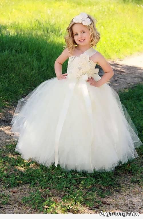 مدل لباس پرنسسی شیک بچه گانه