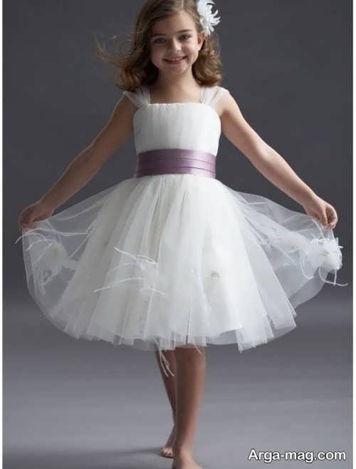 مدل لباس عروس بچه گانه شیک و زیبا