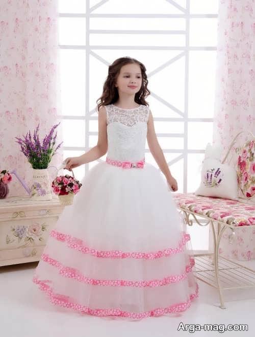 مدل لباس عروس بچه گانه جدید و شیک