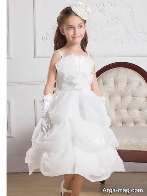 مدل لباس عروس زیبا و شیک بچه گانه