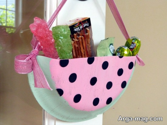 کیف طرح هندوانه