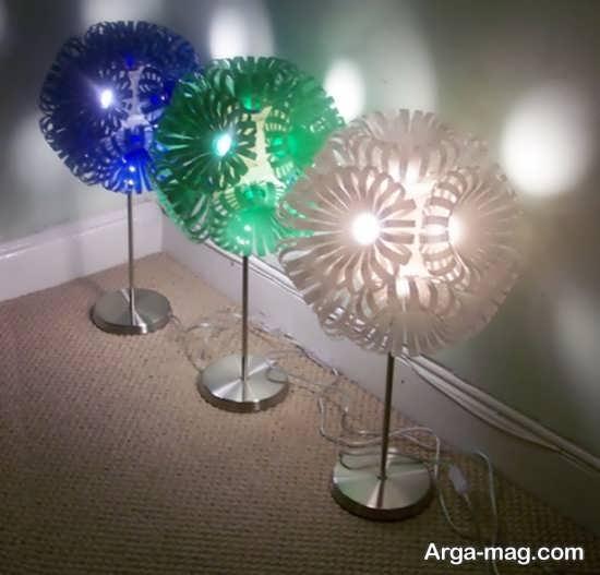ساخت لامپ های تزیینی با بطری