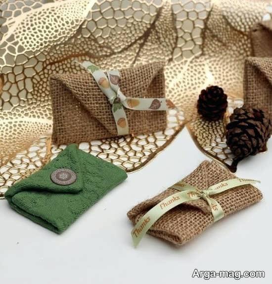 ساخت کیف پول با گونی