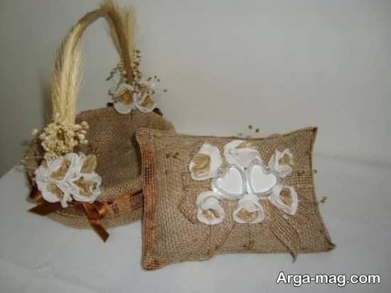ساخت کیف دستی با گونی
