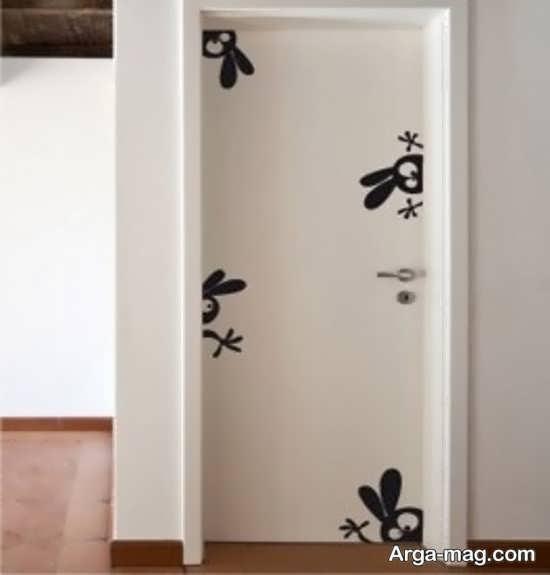 تزیینات درب اتاق نوزاد