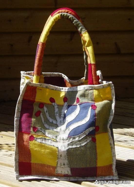 طراحی جالب کیف کنفی