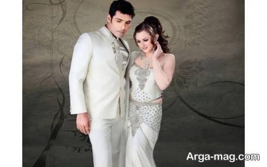 Dress is formal couples 11 - ست لباس عروس و داماد مخصوص مراسم عقد برای زوج های عاشق و باکلاس