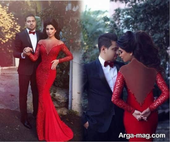 Dress is formal couples 2 - ست لباس عروس و داماد مخصوص مراسم عقد برای زوج های عاشق و باکلاس