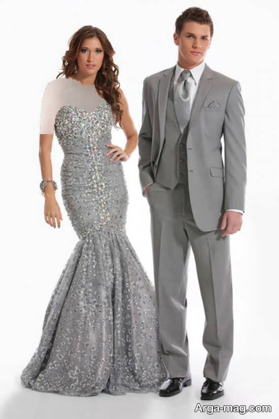 Dress is formal couples 5 - ست لباس عروس و داماد مخصوص مراسم عقد برای زوج های عاشق و باکلاس