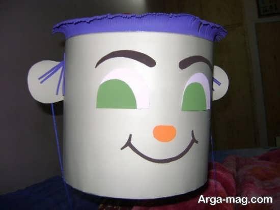 کاردستی سطل زباله