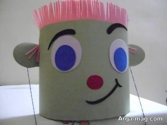 تزیین سطل زباله ساخت کاردستی سطل زباله به منظور علت کودکان بوسیله خلاقیت ...