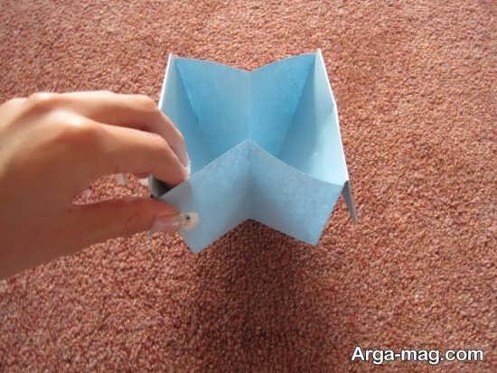 ساخت سطل آشغال با کاغذ