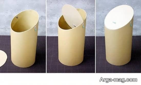ساخت سطل زباله