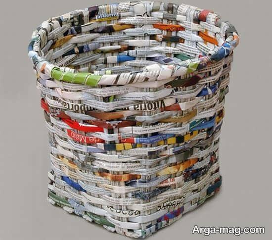 ساخت کاردستی سطل زباله برای کودکان با خلاقیت های متفاوت