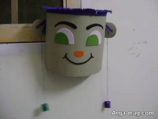 ساخت سطل آشغال دیواری