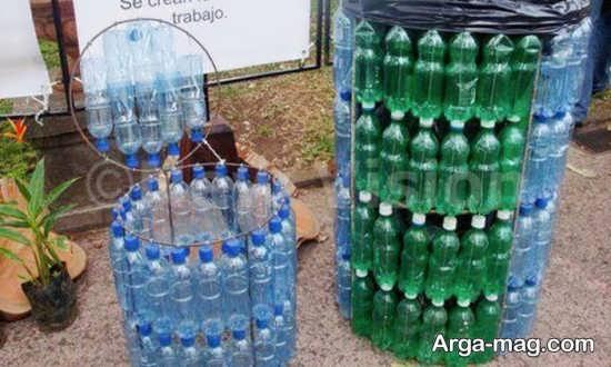 ساخت سطل زباله با بطری