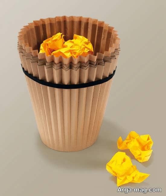 سطل زباله کاغذی