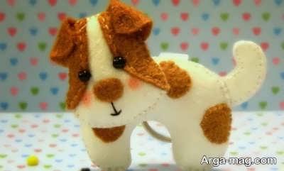 جدیدترین عروسکهای سگ نمدی