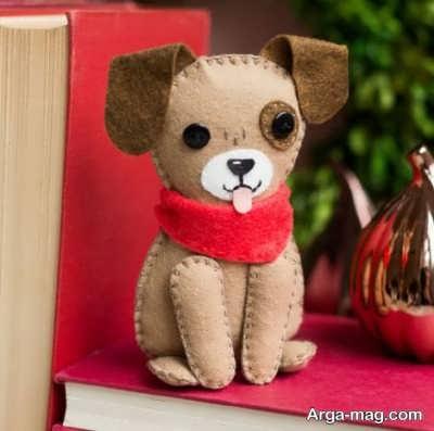 عروسکهای سگ نمدی
